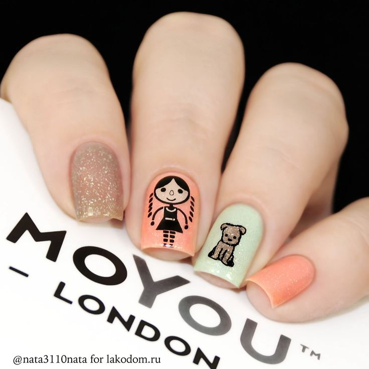 155 best nail stamp peach images on Pinterest | Nail stamping, Peach ...