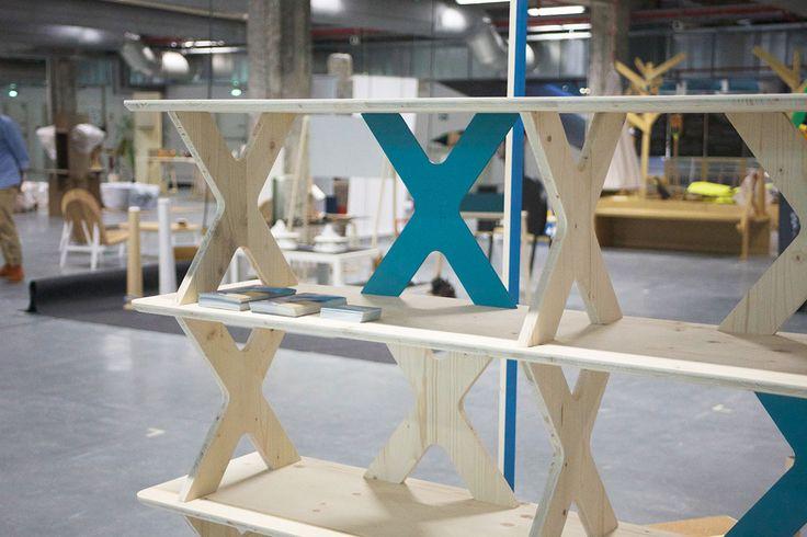 1010 Shelf Sytem, Paris Design Week 2014 #étagère #shelf #shelfsystem #bibliothèque #mobilier #meuble  #furniture