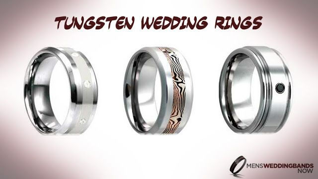 Latest Jewelry Trend with #Tungsten #Rings