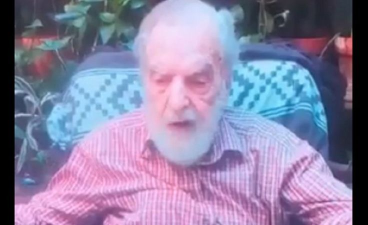 El emotivo mensaje de Osvaldo Bayer por el crimen de Rafael Nahuel