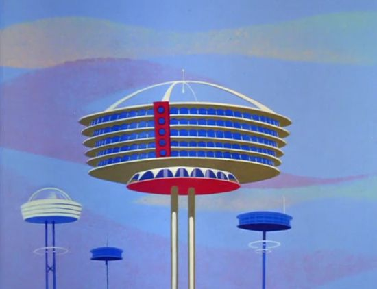 Mid-21st Century Modern: That Jetsons Architecture | Paleofuture