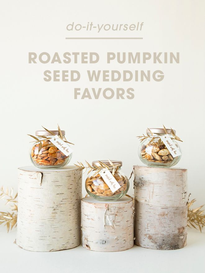 Pumpkin seeds as wedding favors? Something Turquoise says absolutely. With this tutorial, learn how to roast different flavored pumpkin seeds for tasty and creative wedding favors. Click in for the complete tutorial.