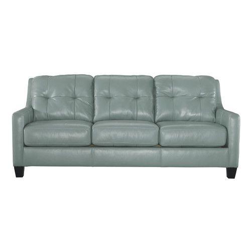 Found it at Wayfair - O'Kean Leather Sofa