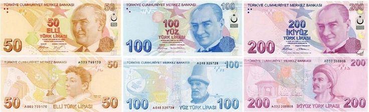 Turkish Lira photos, Turkish money, TL, Turkish banknote