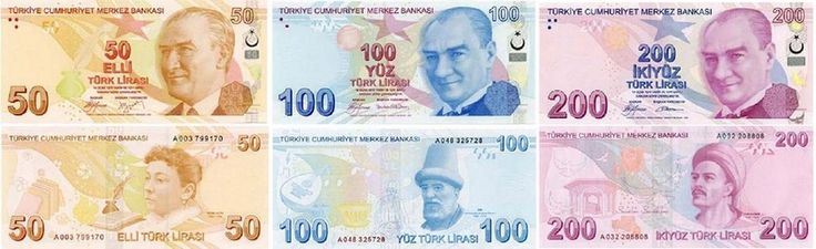 Turkish Lira photos, Turkish money, TL, Turkish banknote
