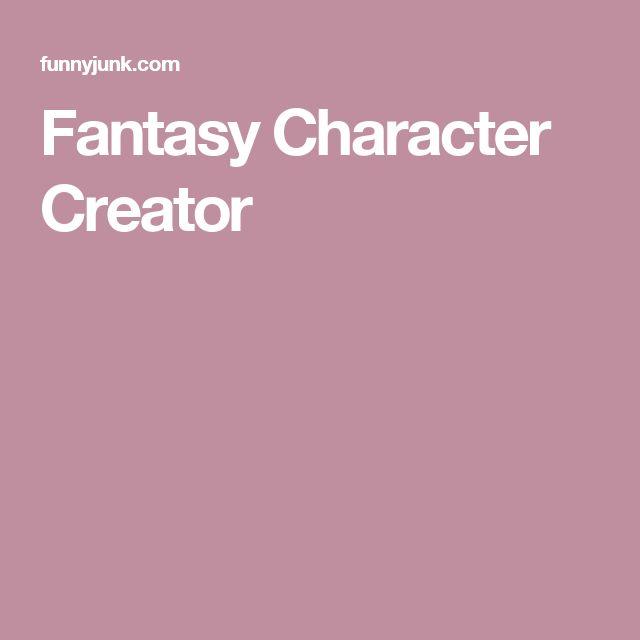 Fantasy Character Creator