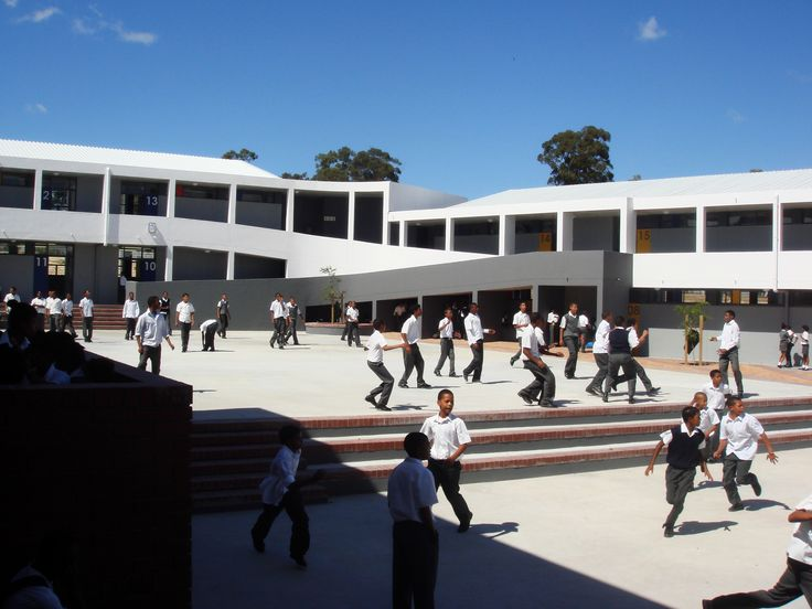 Northpine Technical High School - courtyard