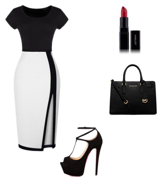 Lawyer by livinthethuglife on Polyvore featuring polyvore fashion style Talitha Michael Kors Inglot women's clothing women's fashion women female woman misses juniors