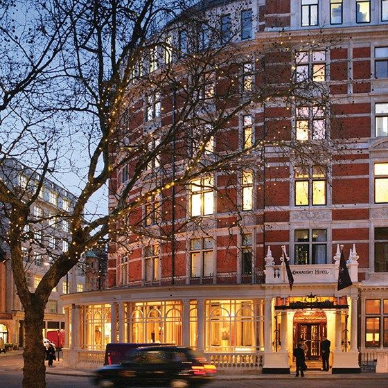 The Connaught Hotel, Carlos Place, Mayfair.