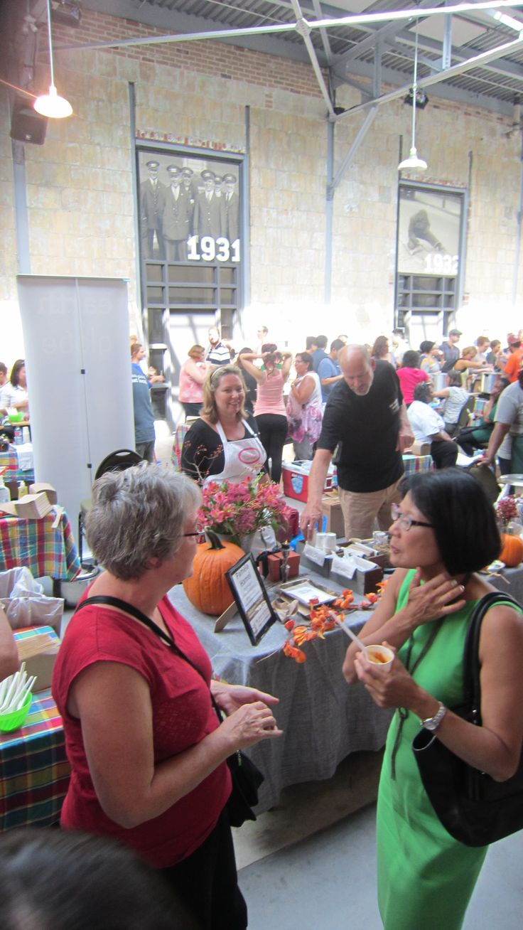Olivia Chow mingling with the crowd at Soupalicious Toronto 2104