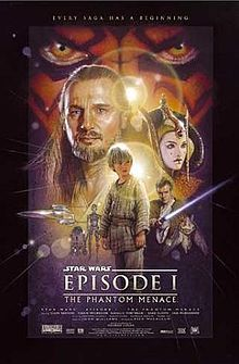 The Phantom Menace (the 4th movie released in the Star Wars saga)
