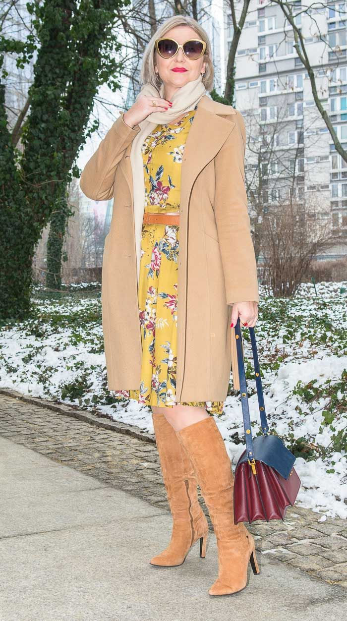 How to wear floral dresses all year round