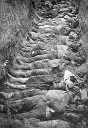 Russian Revolution of 1905, the corpses of Armenians after the May massacre.