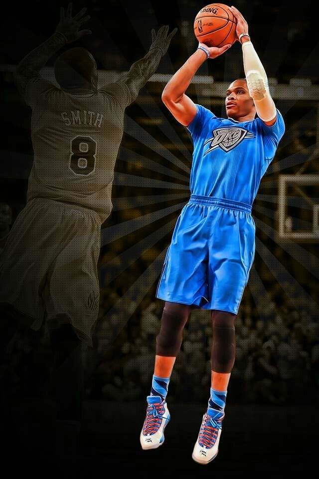 Russell Westbrook - These shirt uniforms r horrendous!!!!