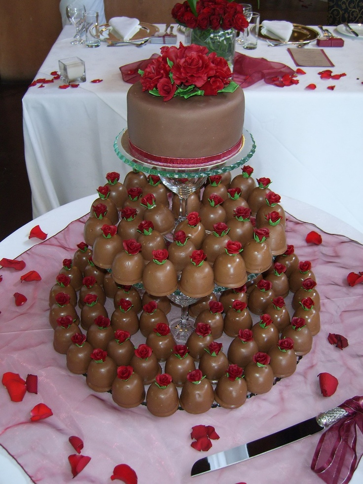 Sweety Pie wedding cake