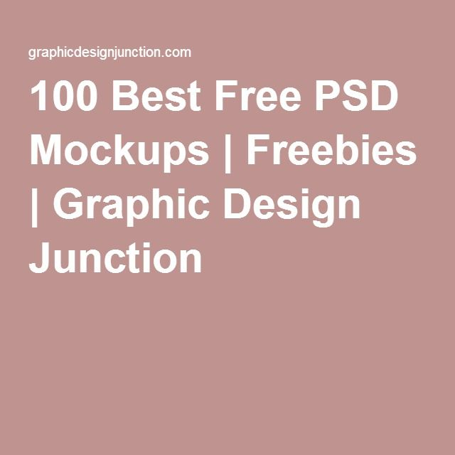 100 Best Free PSD Mockups | Freebies | Graphic Design Junction