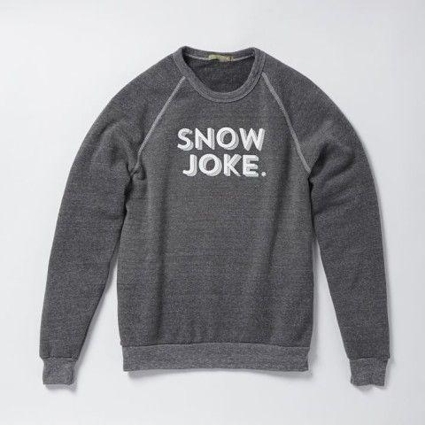 Market Sweatshirt - Snow Joke