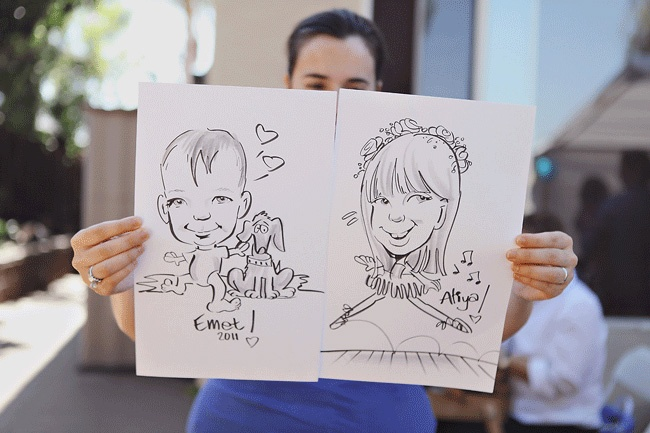 Have a caricaturist draw pics of party guests: Kids Parties, 1St Birthday Parties, For Kids, Child Birthday, Goldfish 1St, Parties Favors, Goldfish Birthday, Parties Ideas, Birthday Ideas