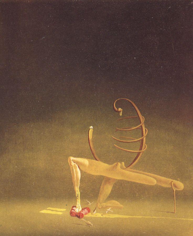 Javanese Mannequin - Salvador Dali (1934)