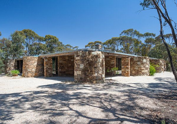 The Baker House is one of the showpieces of renowned mid-century Australian architect Robin Boyd. Commissioned in the 1960's by English mathematician Dr Michael Baker, the house typifies the aesthetics of its era – expansive glass, clean lines, an open-plan, striking stonework and a flat roof.