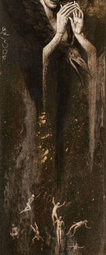 Santiago Caruso #art #painting #dark