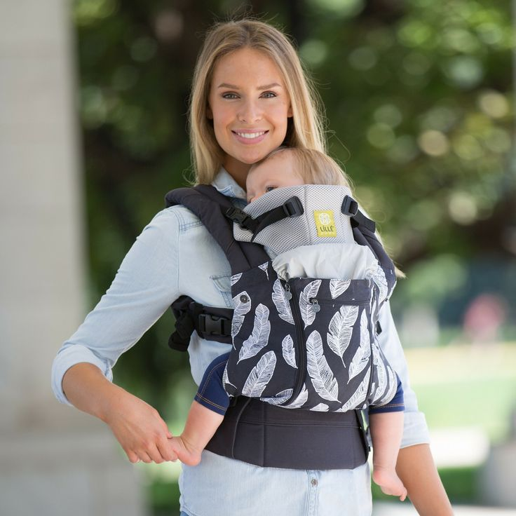 LILLE BABY CARRIER. COMPLETE ALL SEASONS - BIRDS OF A FEATHER.