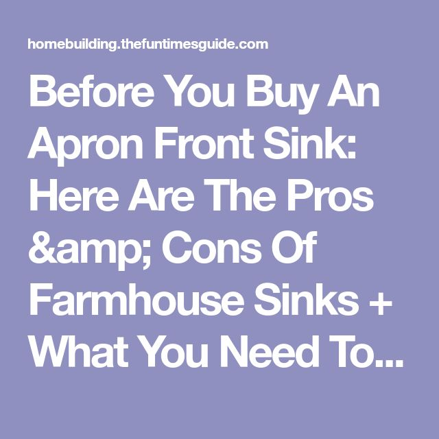 Best 25+ Farmhouse sinks ideas on Pinterest