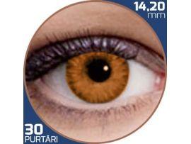 Air Optix Colors Honey | lentile de contact colorate caprui lunare - 30 purtari (2 lentile/cutie)