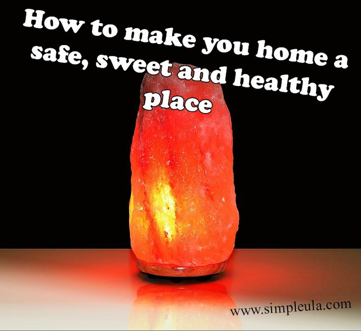 Himalayan salt lamp – make your home a sweet, safe and healthy place www.simpleula.com