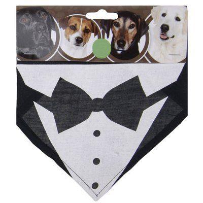 Honden zakdoek Smoking