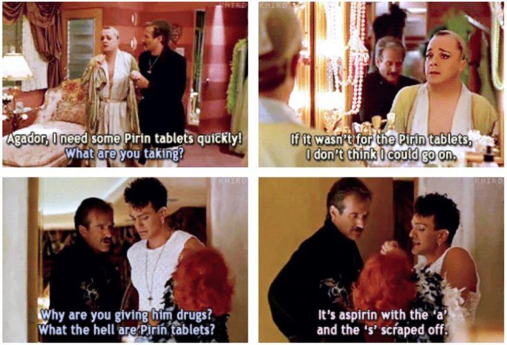 Pirin Tablets -- The Birdcage (1996)