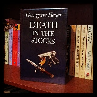 Death in the Stocks by Georgette Heyer -- a classic British mystery #books