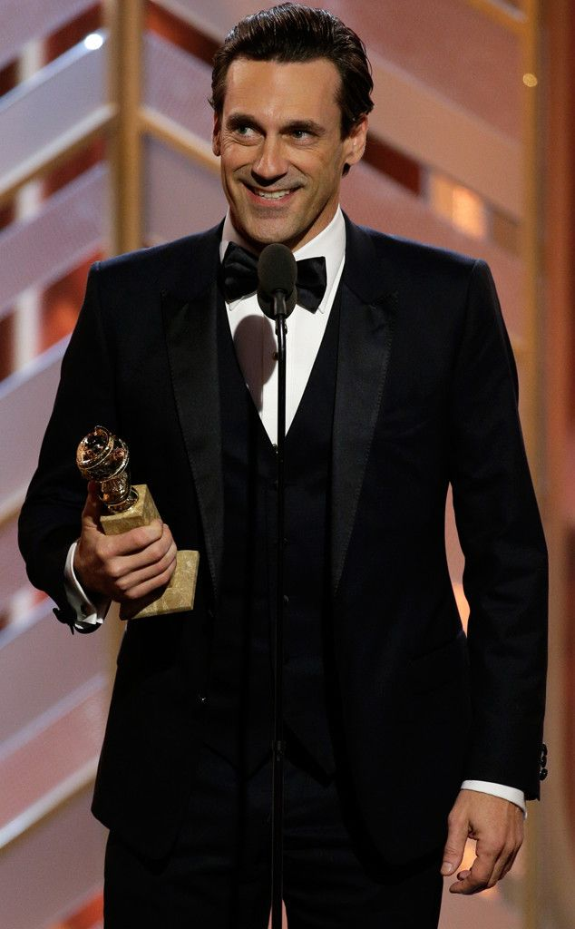 """73rd Annual Golden Globe Awards - Jon Hamm WON an award for Best Actor In A TV Series Drama for his role in """"Mad Men."""""""