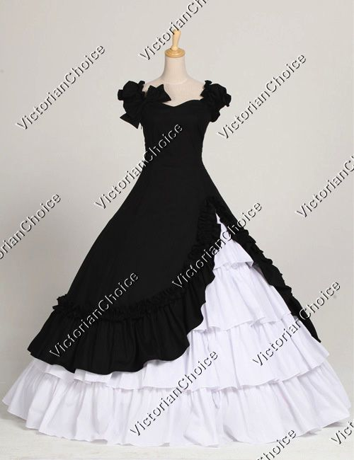 Southern Belle Civil War Ball Gown Dress Reenactment Costume. I would definitely sell something similar either in my bridal or formal section of my store! :)