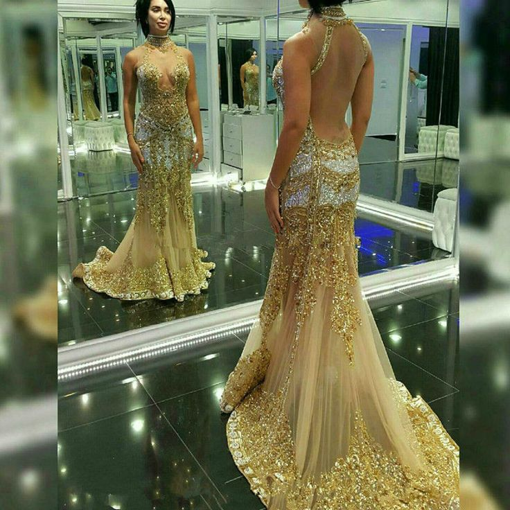 17 best ideas about gold prom dresses on pinterest