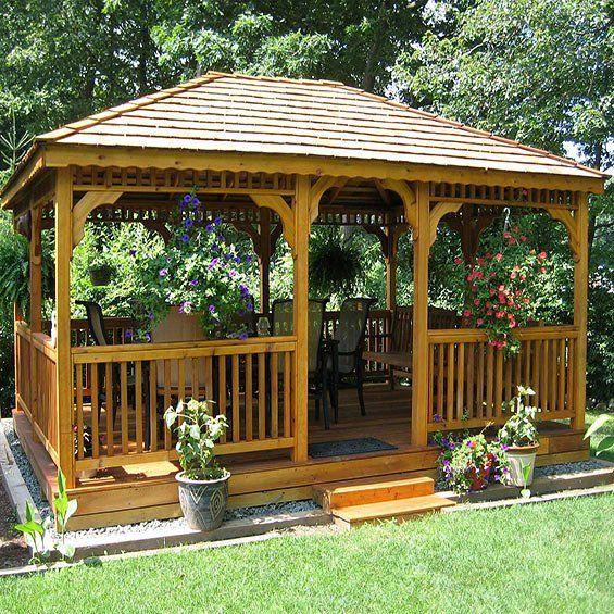Modern Gazebo Designs For The Modern Home Backyard Gazebo