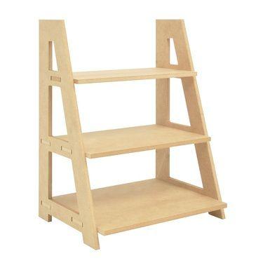 Kaisercraft Ladder Shelf Natural