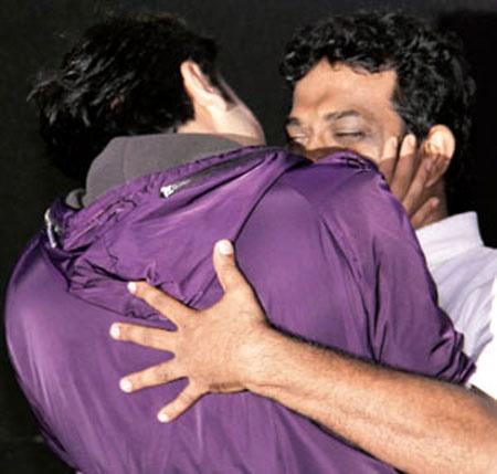 Ranbir's gets cheeky with Anurag Basu!