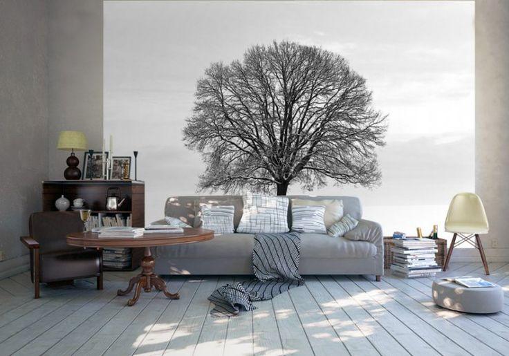 Fototapety - nowoczesne aranżacje wnętrz http://decoart24.pl/_blog/44-Fototapety_.html  #DecoArt24 #inspiracje #fototapety #dekoracje #wyposażenie #salon