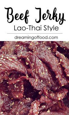Lao-Thai Beef Jerky