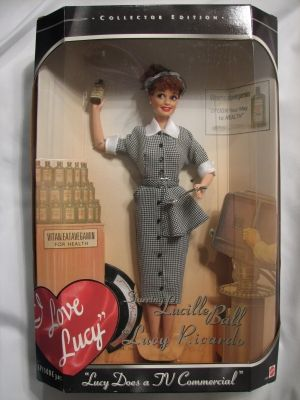 Lucy Does A Commerical Vitameatavegamin Mattel Doll | LucyStore.com (I have every doll with the exception of Fred and Ethel Christmas)