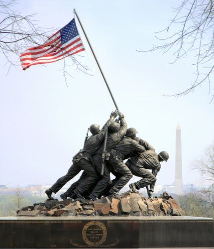 the other symbolic of Iwo Jima that they have now it is at the state park to know what they did.