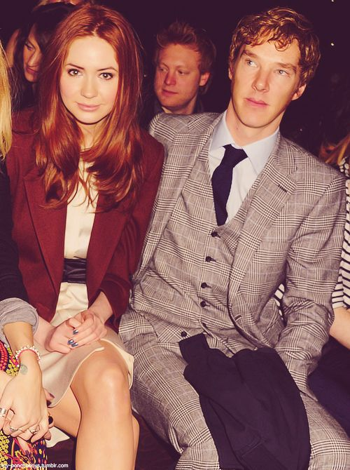 amy pond and sherlock holmes - british and tweedy