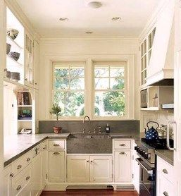 ideas for galley kitchen thisoldhouse color scheme