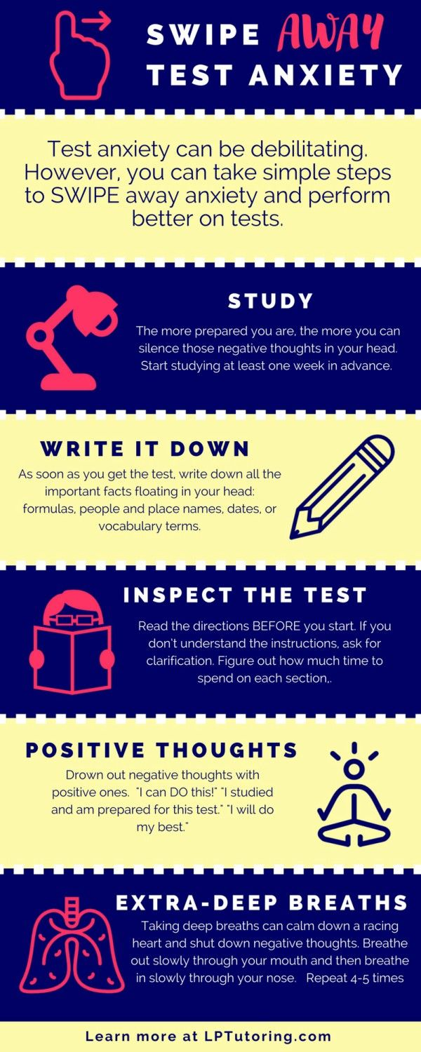 Test Anxiety | Test Taking Tips | Test Strategies