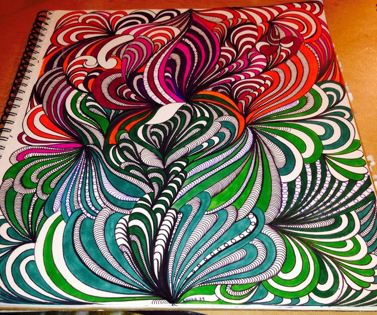 love sharpie art.