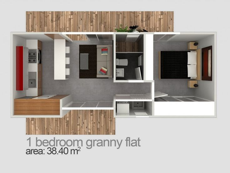 112 best granny flat annex extension images on pinterest for Garage with granny flat on top