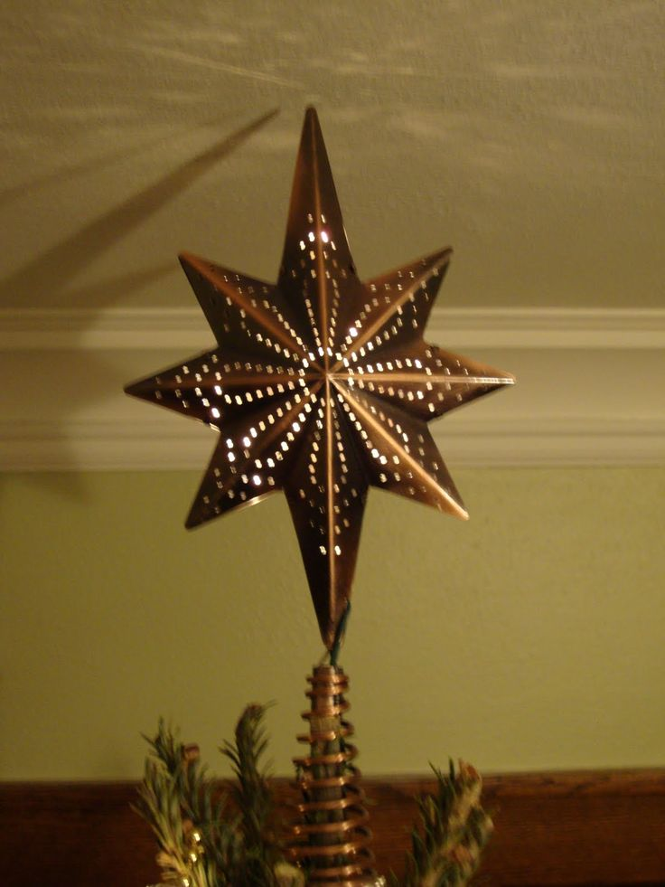 50 Best Christmas Tree Top Stars Images On Pinterest