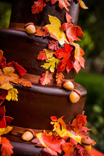33 best Fall Cakes images on Pinterest Fall cakes Autumn