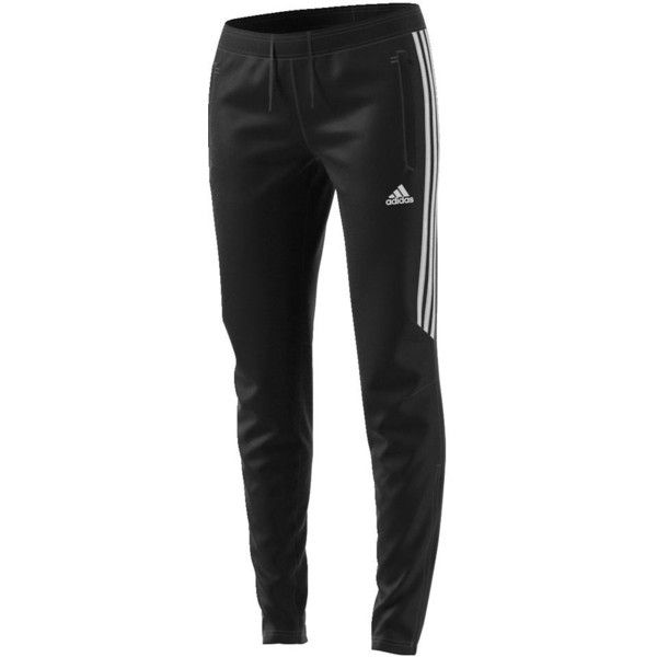 adidas Women's Tiro 17 Training Pant 2 Black Pants ($45) ❤ liked on Polyvore featuring activewear, activewear pants, black, adidas sportswear, adidas activewear and adidas